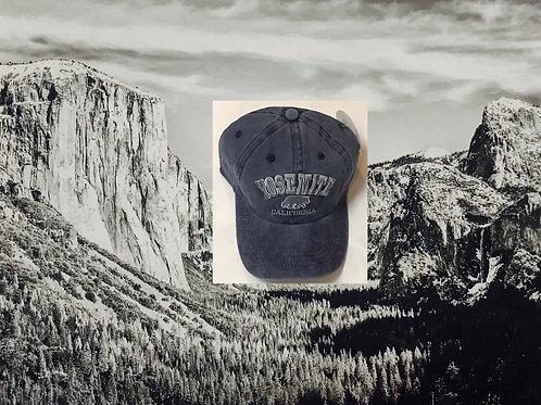 Yosemite, California Bear Baseball Cap