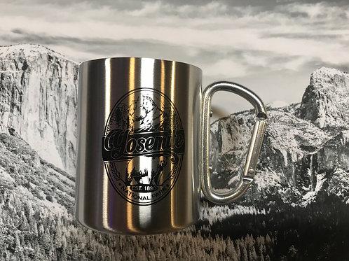 Stainless Steel Carabiner Yosemite Camping Mug