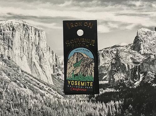 Yosemite Half Dome Patch, Yellow writing