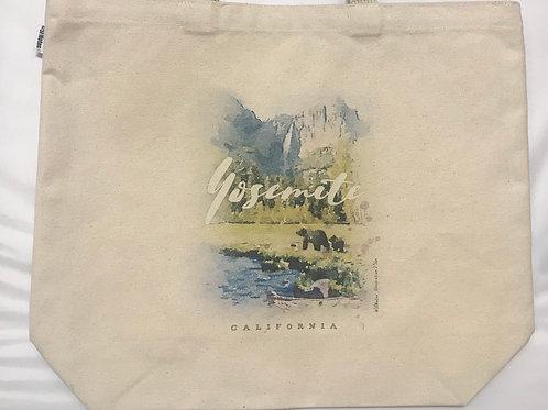 Bears in Yosemite Large Tote Bag