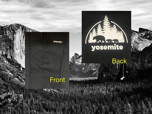 Zip Hoodie Yosemite Bears Sm-XL