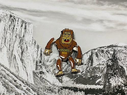 Big Foot Yosemite Magnet