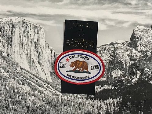 California Bear Est. 1850 Patch