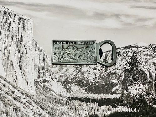 Yosemite National Park Bottle Opener Magnet
