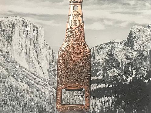 Yosemite Water Fall Flowing Since 1890 Copper Bottle Opener