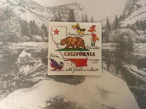 California Photo Magnet