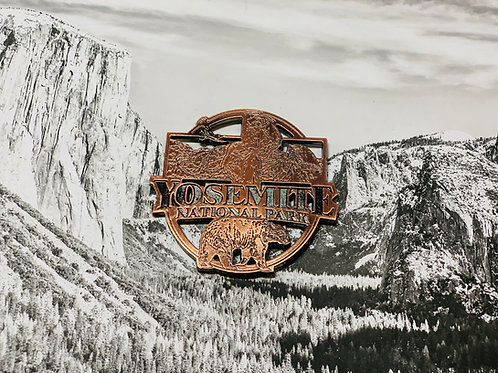 Copper Yosemite National Park Bear Magnet
