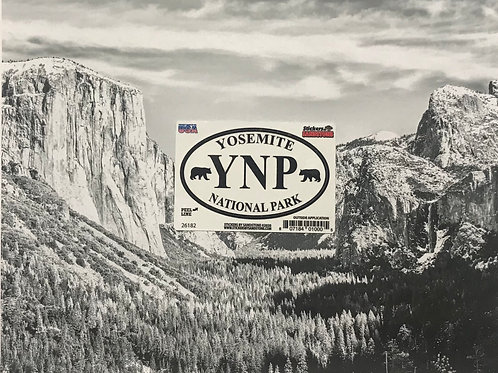 kYosemite YNP National Park Mini Sticker