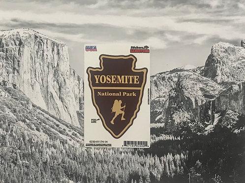 Yosemite Arrow Small Sticker