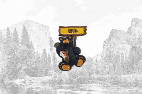 Bearfoots Mariposa Magnet