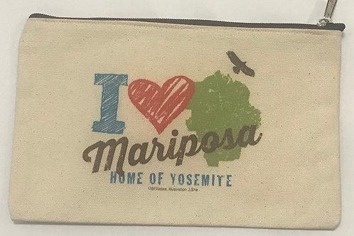 I Love Mariposa Pouch