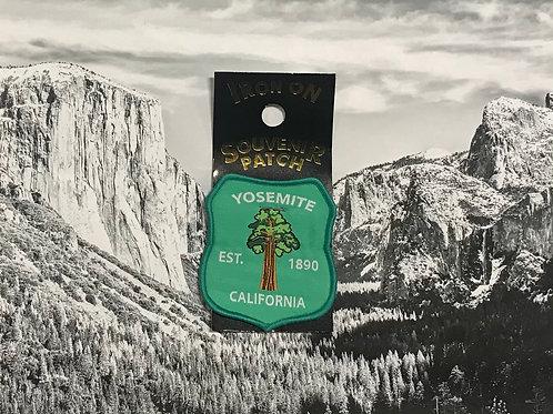 Patch Yosemite Sequoia Tree 1890