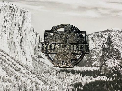 Sliver Yosemite National Park Magnet