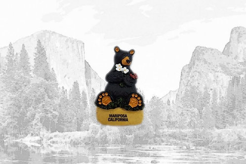 Bearfoots Mariposa Bear Magnet