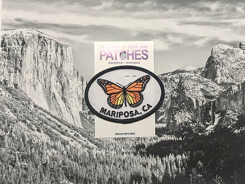 Mariposa, CA Butterfly Patch