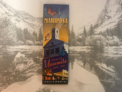Mariposa-Yosemite-Ca Photo Magnet