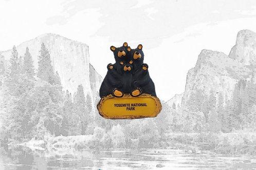 Bearfoots Bear Family Magnet