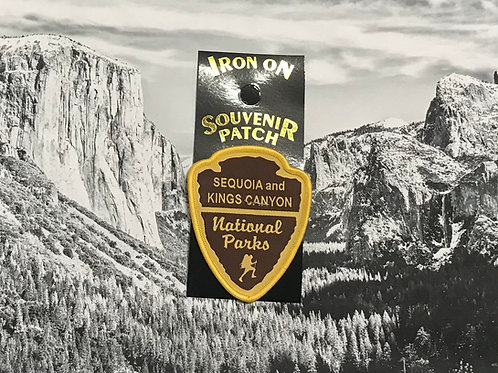 Sequoia/Kings Canyon Arrow Patch