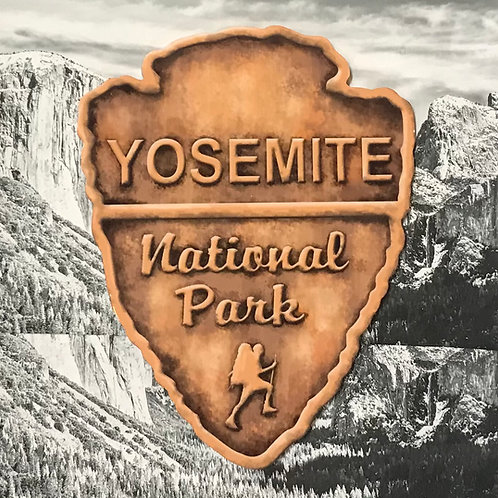 Yosemite National Park Arrow Trivet