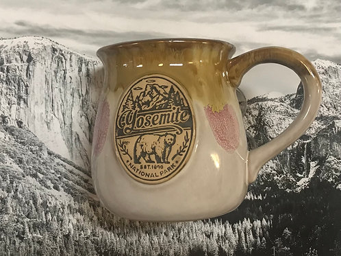 Yosemite Ceramic Large Mug with Bear