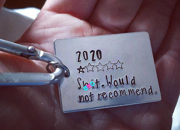 2020 Review Keyring