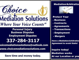 Protect your Deals with Mediation/Arbitration Clauses!