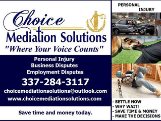 Mediator for Personal Injury Claims