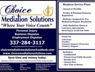 Keep your Claim or Case PRIVATE with Mediation!