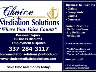 Business Disputes- Attorney Needed???