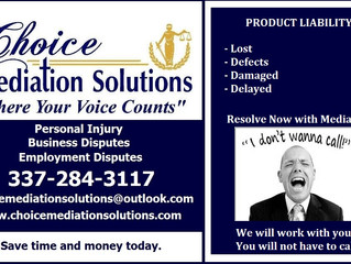 Product Liability...You will not have to call. We Will!!