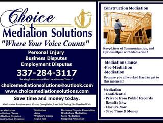 Construction Disagreements