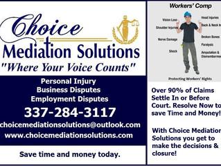 Worker's Comp Mediation