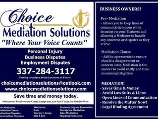 Mediate Don't Litigate