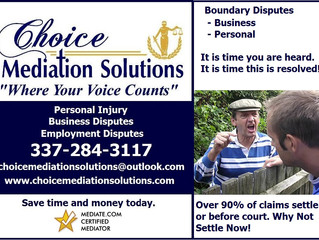 Boundary Claim, Case or Complaint - Call Choice Mediation