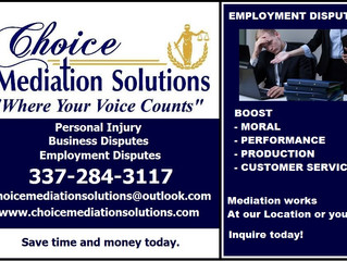 Employment Mediation Works! Your Place or Ours!