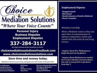 Employment Mediation Services