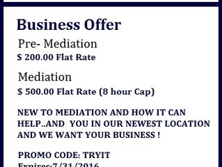 Just how private is Mediation!
