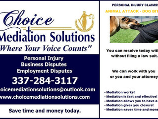 Animal Attack - Mediation Services