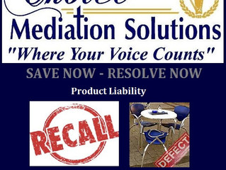 Arbitration/Mediation for Product Liability