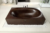 wooden bathtub Laguna Basic