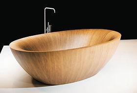 Laguna Pearl, Alegna, wooden bathtub