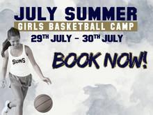 JULY SUMMER GIRLS BASKETBALL CAMP