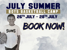 JULY SUMMER BOYS BASKETBALL CAMP