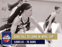 Report: SUNS FALL TO LIONS IN WBBL CUP