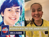 INTERVIEW WITH TWO SUNS JUNIOR PLAYERS - IRIS & ELODIE