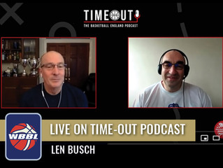Head Coach Len Busch On Time-out Podcast