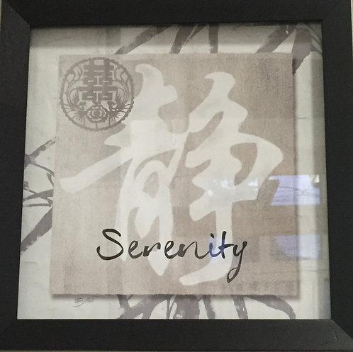 Serenity Framed Wall Art