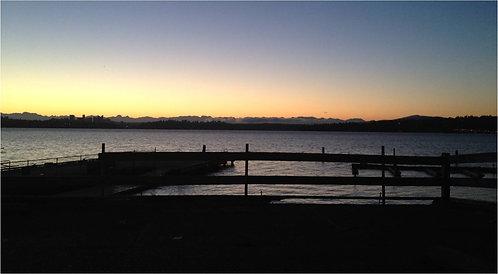 LS-01 Lakefront Sunrise Photograph 1