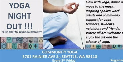 Yoga Night Out! - Sept 21