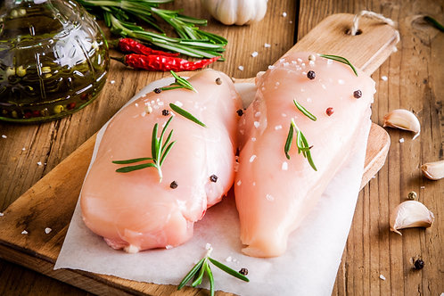 2 x Large Chicken Breast - 8oz approx.